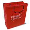 27632 - Small Non-Woven Red Gift Bag, 8.5x10 - thumbnail