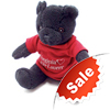 "20164 - Stuffed Black Bear, 7"" - thumbnail"