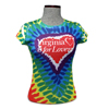 V37104 - Junior Tie Dye Heart T-Shirt - thumbnail