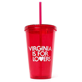 20335 - Red Sturdy Sipper Tumbler, 16 oz - thumbnail