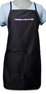 17817 - Twill Apron with Pockets - thumbnail