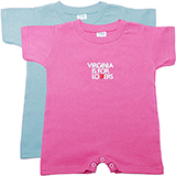 V18245 - T-Shirt Romper, Infant - thumbnail