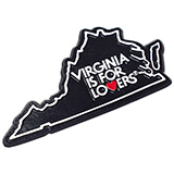 18226 - Virginia State-Shaped Magnet - thumbnail