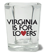 Virginia is for Lovers Shot Glass