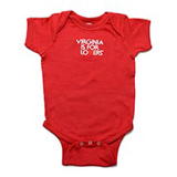 17838 - Cotton Onesie, 12 Months, Red - thumbnail