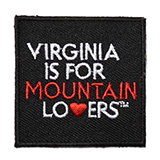 "127812 - Mountain Lovers Embroidered 2"" Patch - thumbnail"