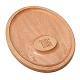 127803 - Oyster Lovers Wooden Oyster Tray, USA Made - thumbnail