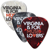 VA127761 - Music Lovers Pearl Guitar Picks, Pack of 10 - thumbnail