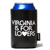 126054 - Koozie® - Collapsible Can Cooler, Black - thumbnail