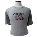 V36860 - Distressed Logo T-Shirt, Heather Gray - thumbnail