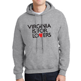 V21201 - Lightweight Hooded Sweatshirt, Sport Grey - thumbnail
