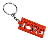 151670 - Metal LOVE Key Chain - thumbnail