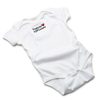 V17838 - Organic Cotton Onesie, White - thumbnail