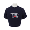 V18049 - Unisex Retro T-Shirt, Navy - thumbnail