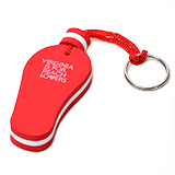 168555 - Beach Lovers Floating FlipFlop Key Chain - thumbnail