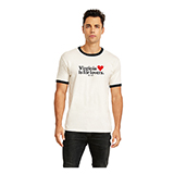 VA280304 - White Vintage Short Sleeve T Shirt - thumbnail